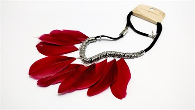 Red Leaves Necklace