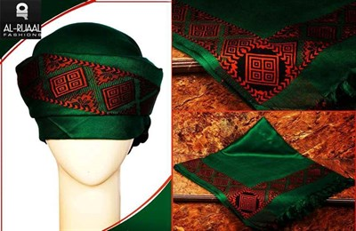 Fashion Head Scarf (green)