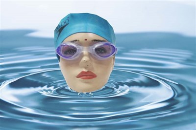 Swimming Cap & Goggles