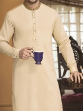 Designer Kurta with Shalwar Suit (Made on Order)