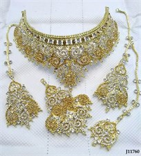 Victorian Style Bridal Jewellery Set