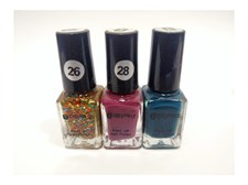 Pack of 3 Colors Nail Polish