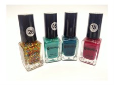 Pack of 4 Colors Nail Polish