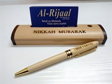 Wooden Pen & Box with ur Name
