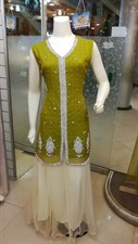 Lemon Green Lehenga